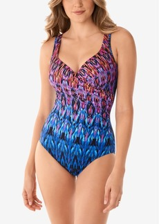 Miraclesuit Vesuvio Its A Wrap One-Piece Tummy Control Swimsuit Women's Swimsuit