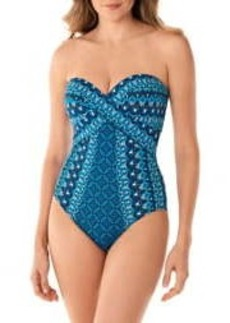 Miraclesuit Mosaica Seville One-Piece Swimsuit