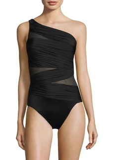 Miraclesuit Network Jena One-Piece Mesh Swimsuit