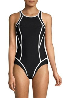 Miraclesuit Prismatix Line-Up One-Piece Swimsuit