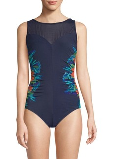 Miraclesuit Samoan Sunset Fascination One-Piece Swimsuit