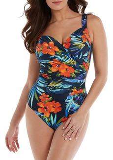 Miraclesuit Samoan Sunset One-Piece Swimsuit