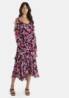Misa Catriona Off The Shoulder Midi Dress - S - Also in: XS