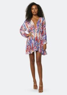 Misa Chiara V-Neck Long Sleeve Mini Dress - XS - Also in: M