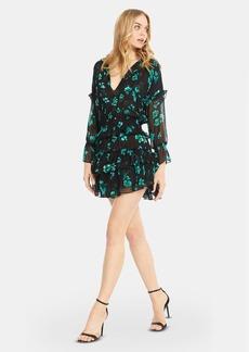 Misa Lolita Long Sleeve Ruffle Mini Dress - XS - Also in: S