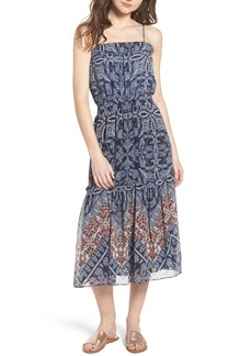 MISA Los Angeles Adel Print Midi Dress