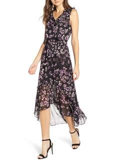 MISA Los Angeles Caterine Sleeveless High/Low Dress