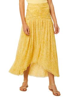 MISA Los Angeles Dalida Ruched Waist Skirt