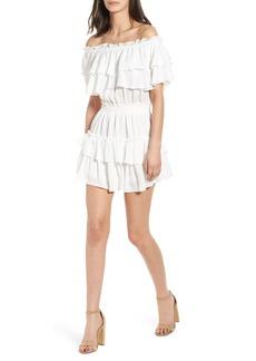 MISA Los Angeles Giada Off the Shoulder Dress