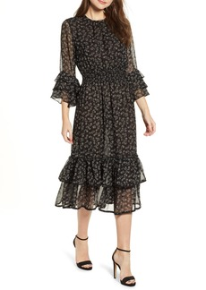 MISA Los Angeles Gordana Ruffle Dress