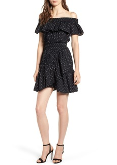 MISA Los Angeles Lavie Off the Shoulder Dress