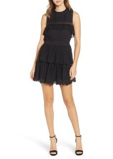 MISA Los Angeles Liat Point d'Esprit Dress