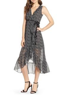 MISA Los Angeles Mari Sleeveless High/Low Dress