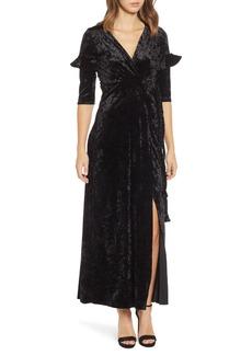 MISA Los Angeles Symone Wrap Dress