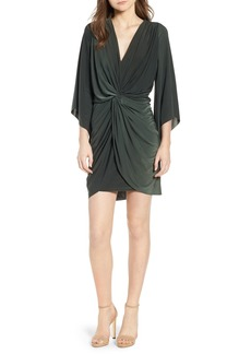 MISA Los Angeles Teget Knot Front Dress