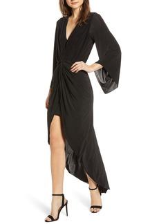 MISA Los Angeles Teget Maxi Dress