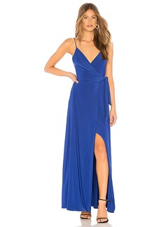 MISA Los Angeles Veronika Wrap Dress