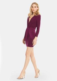 Misa Ophelie Shirred Velvet Mini Dress - S - Also in: L, M, XS