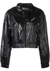 Misbhv cropped logo bomber jacket