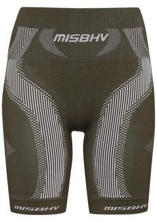 Misbhv knee-length biker shorts