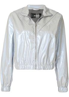 Misbhv full-zip bomber jacket - Metallic