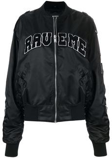 Misbhv Rave me bomber jacket - Black