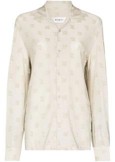 Misbhv monogram-pattern shirt