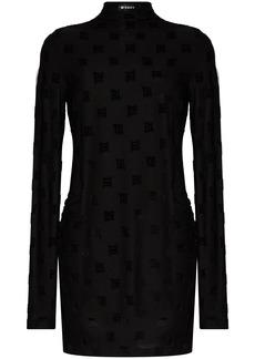 Misbhv monogram-print mini dress
