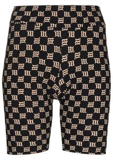 Misbhv monogram stretch biking shorts