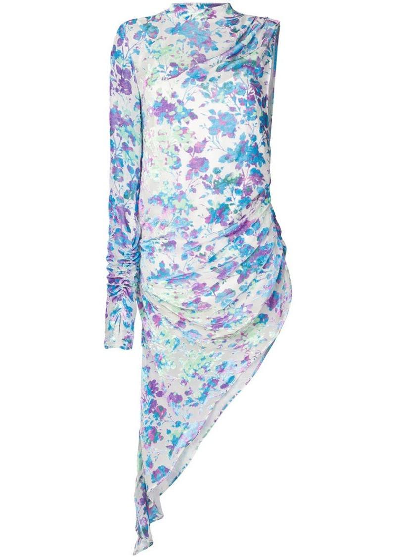 Misbhv printed one-shoulder dress