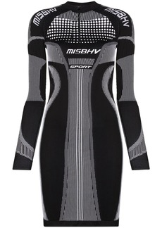 Misbhv Sport Active fitted mini dress
