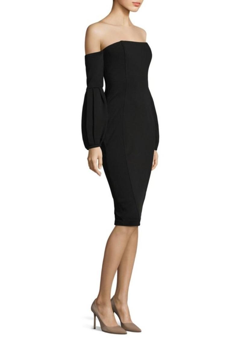 Merena Off-The-Shoulder Midi Dress