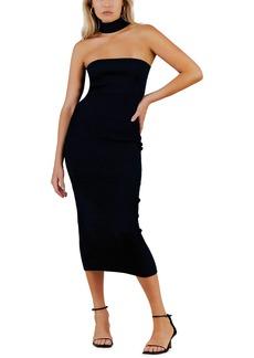 Misha Collection MISHA Briana Racerback Midi Dress