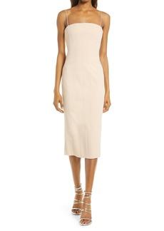 Misha Collection MISHA Irisa Crepe Sheath Dress