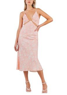 Misha Collection MISHA Lupita Cutout Midi Dress