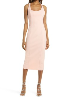 Misha Collection MISHA Sleeveless Sheath Midi Dress