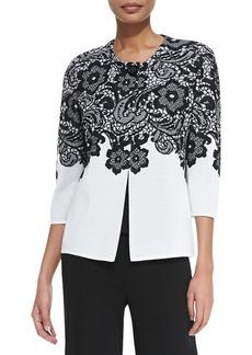Misook Classic Lace Jacket