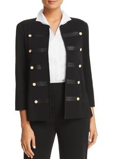 Misook Appliqu�d Military Jacket