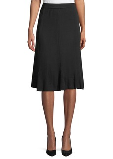 Misook Gored A-Line Skirt