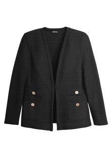 Misook Mix Textured Knit Jacket