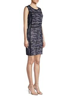 Misook Mélange Knit Sheath Dress