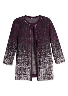 Misook Ombré Knit Jacket