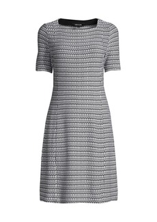 Misook Square-Neck Knit Dress