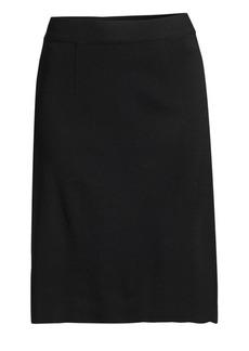 Misook Straight-Fit Skirt