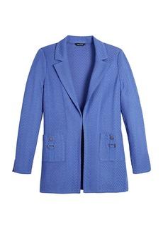 Misook Textured Knit Jacket