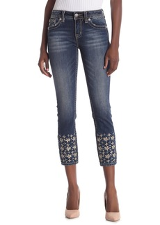 Miss Me Big Deal Mid-Rise Ankle Skinny Jeans
