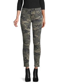 Miss Me Camouflage-Print Ankle Jeans