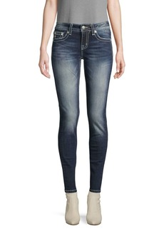 Miss Me Contrast Stitch Jeans