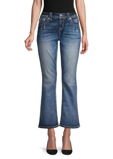 Miss Me Cropped Flared Jeans