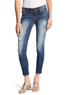 Miss Me Distressed Ankle Skinny Jeans